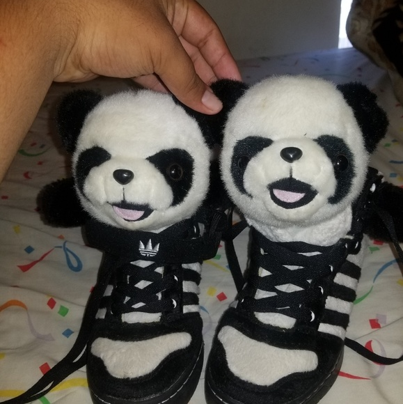 Adidas Jeremy Scott Panda Shoes